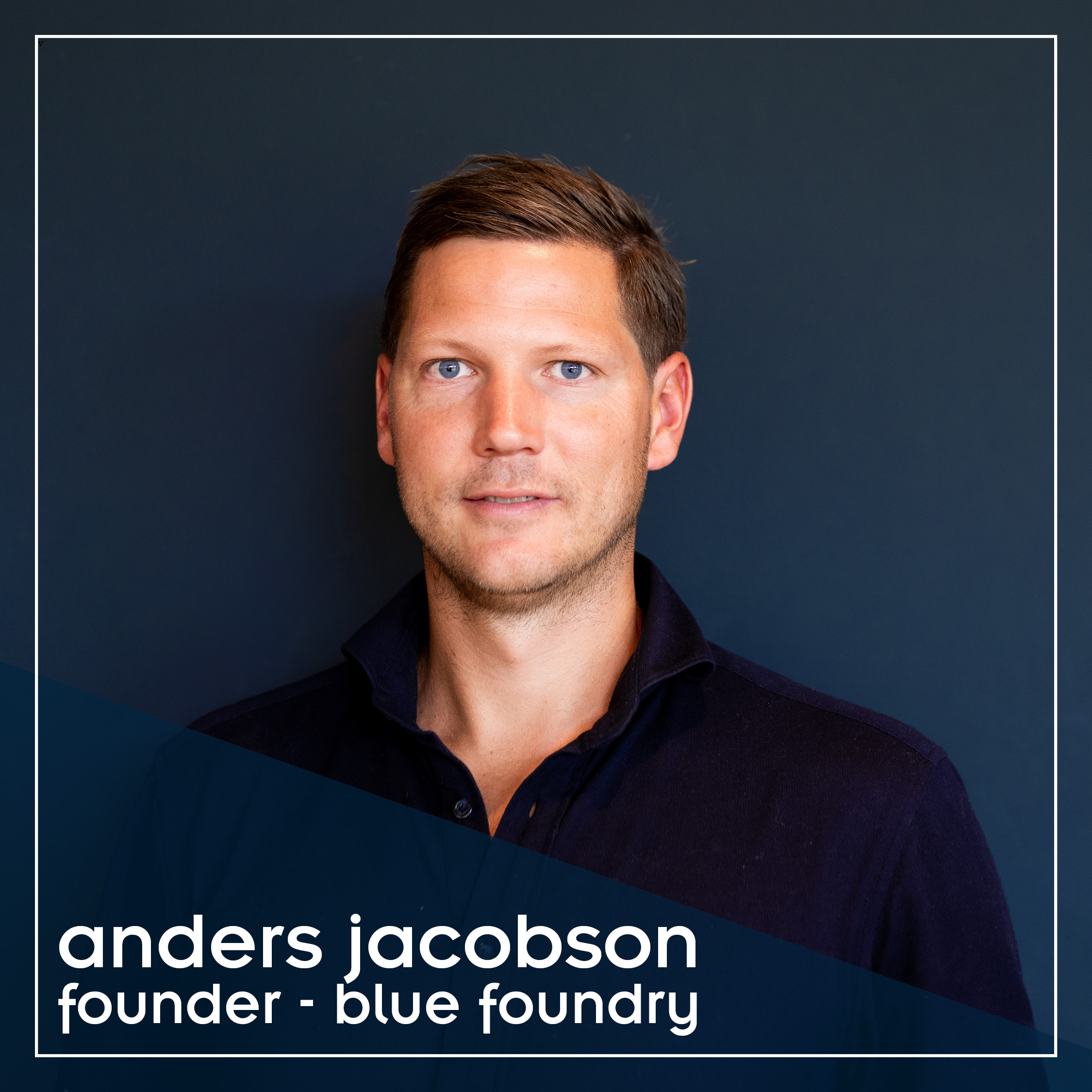 Anders Jacobson, Blue
